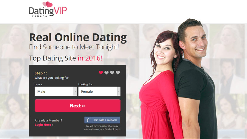 dating website in canada