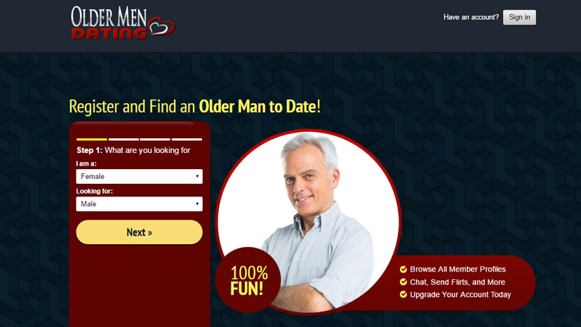 Older Men Dating