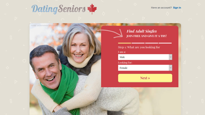 Dating sites for senior citizens