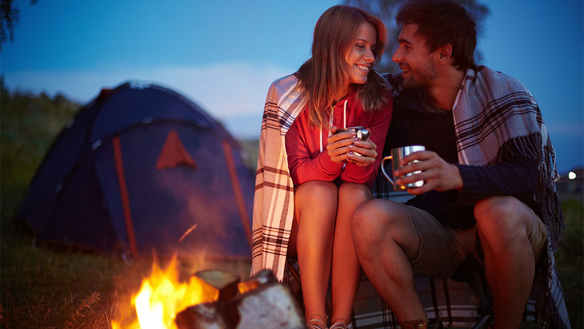 online dating camping